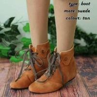 Sepatu Boots Korea Wanita Casual Pesta Kerja Toko Online Harga Murah