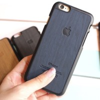 WOOD HARDCASE Casing - Case Hp iPhone 4 4s 5 5s 6