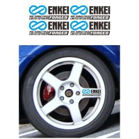 Sticker Velg Mobil Enkei WRC Tarmac Evo Limited Forged
