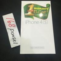 harga Apple Iphone 4s 16gb White Black Garansi 1tahun Distributor Resmi Tokopedia.com