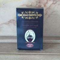 MASKER COKLAT BELLO PERFETTO NEW PACK 12 SACHET / Masker Wajah Ori