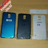 Backdoor / Tutup Baterai Hp Samsung Galaxy S5 I9600 Batre Batere