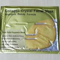 Harga collagen crystal facial mask masker muka wajah topeng | Pembandingharga.com