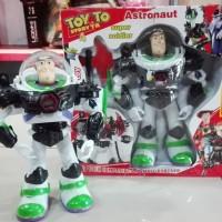 Toy Story 4, Woody dan Buzz Lighyear, suara dan artikulasi