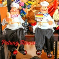 harga Patung Pajangan Duduk Pinggir Koki Chef Perancis Roti Kue Tokopedia.com