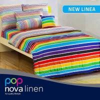 harga Perlengkapan Kamar Tidur Sprei Nova Linen NEW LINEA Tokopedia.com