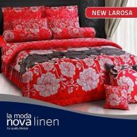 harga Perlengkapan Kamar Tidur Sprei Nova Linen Larosa Tokopedia.com