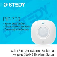 Sensor Gerak Ceiling PIR-700 - Stedy