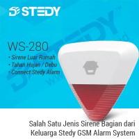 Sirene Luar Rumah WS-280 - Stedy