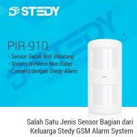 Sensor Gerak Anti Binatang PIR-910 - Stedy