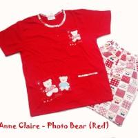 ANNE CLAIRE OBLONG PENDEK (RED)