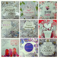 harga Secret Garden - Coloring Book - Stress Management Therapy Tokopedia.com