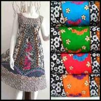 Dress Batik Klok tanpa Lengan -Putri Jepang- I