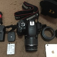 Kamera DSLR Canon EOS 650D 650 D Rebel T4i Kit 18-55 FulsetMulus Bonus