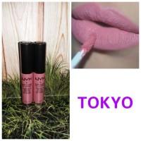 TOKYO NYX SOFT MATTE LIP CREAM