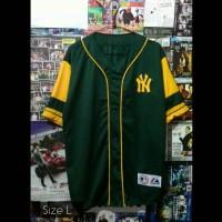 harga Jersey Baseball Ny Hijau Tokopedia.com