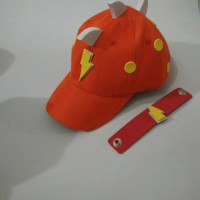 Topi Boboiboy Halilintar Orange Best Seller