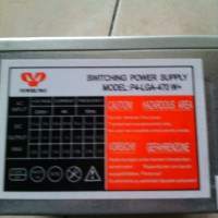 "Power Supply 470 Watt Merk ""power Pro"""