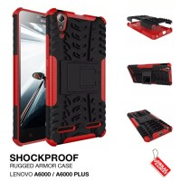Lenovo A6000 / Plus Rugged Shockproof Armor Hybrid Hard & Soft Case