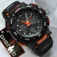 Jam tangan DIGITEC triple sensor