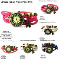 harga JAM TANGAN WANITA VINTAGE URBAN WATCH SIMPUL LEATHER BANDUL PARIS Tokopedia.com