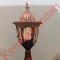 harga Lampu Pilar Taman Garden Lamp Bohlam Led Minimalis Antik Outdoor E27 Tokopedia.com