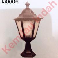 harga Lampu Pilar Taman Garden Lamp Bohlam Led Minimalis Antik Outdoor 0606 Tokopedia.com
