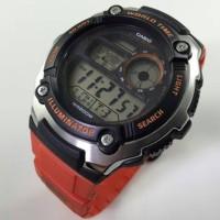 harga Jam Tangan Pria Casio Ae-2100 Ae2100 Orange Original Tokopedia.com