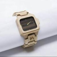 jam tangan kayu Matoa kayu sumba original  list putih