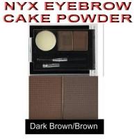 harga Nyx Eyebrow Cake Powder - Dark Brown/brown Tokopedia.com