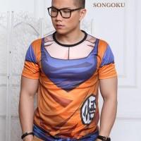Baju Distro - T-shirt - Baju Dragon ball -songoku