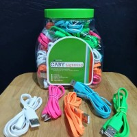 Kabel Data Caby Lightning Hippo For Iphone 5/6