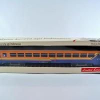 miniatur kereta api - Gerbong Ekonomi KAI (Papercraft)