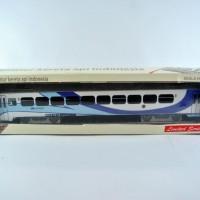miniatur kereta api - Gerbong Ekonomi AC KAI (Papercraft)