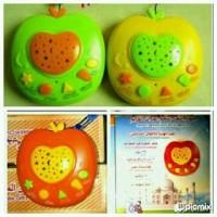 Mainan Anak Muslim Apple Learning Quran + Projector Lamp|Mainan murah