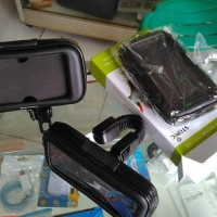 #ResellerBali Cover Holder Android HP Untuk Motor Anti Air