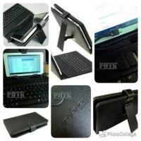 "LEATHER SAMSUNG LENOVO ASUS TAB 7"" WITH KEYBOARD CASE COVER FLIPCASE"