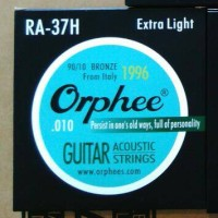 Senar Orphee Akustik Gitar 010 RA37H
