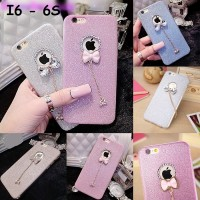CUTE Luxury Crystal Bling Glitter Shine soft case FOR IPHONE 6 6S