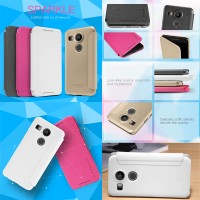 Nillkin Sparkle Leather Case LG Nexus 5X Flip Cover