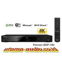 Pioneer BDP-180 Network 3D Blu-ray Player 4K Video Upscaler dan Wifi
