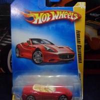 hot wheels ferrari california red
