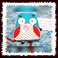 Tas anak TK PAUD 1-OWL Skiphop Zoo Pack