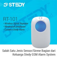 Penguat Sinyal Wifi Alarm RT-101 - Stedy