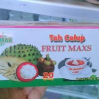 Jual teh Celup fruit Maxs,teh daun sirsak,teh kulit Manggis,teh Herbal Murah