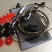 DIY Earbud Sennheiser MX500 Earphone+Mic Upgrade Version Bass Headset