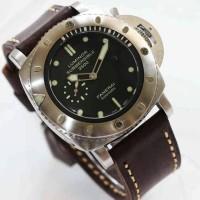 harga Luminor Submersible 2500 Panerai Automatic Silver (brown Leather) Tokopedia.com