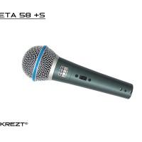 Wired Microphone Krezt Beta 58s