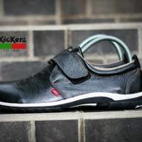 harga Sepatu Murah Kickers Futura Prepet Kulit Hitam Tokopedia.com