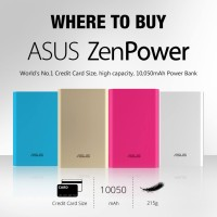 harga Powerbank Asus Zenpower 10050 Mah Original Tokopedia.com